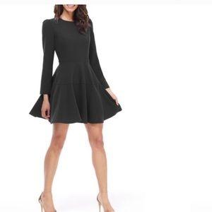 Gal meets Glam Celeste black fit & flare dress 14